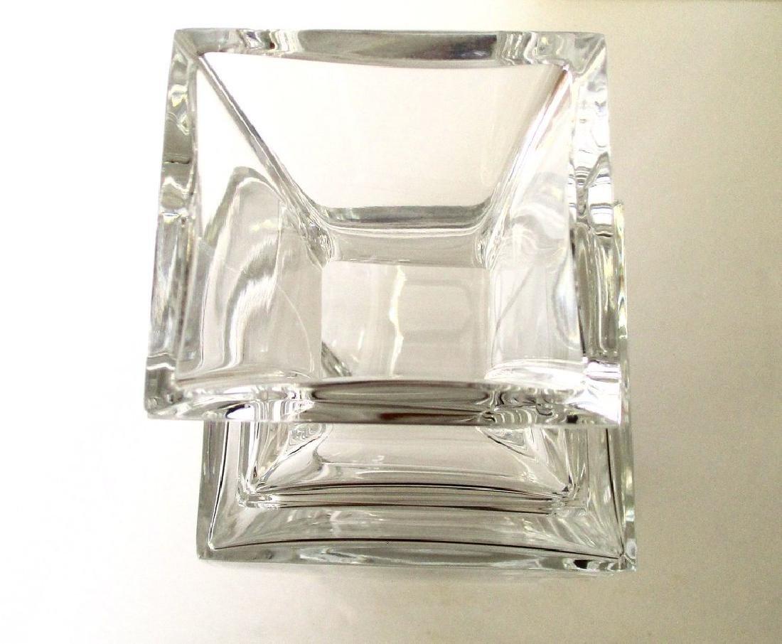 Baccarat 10 1/4 - Inch Lead Crystal Vase in Pristine - 6
