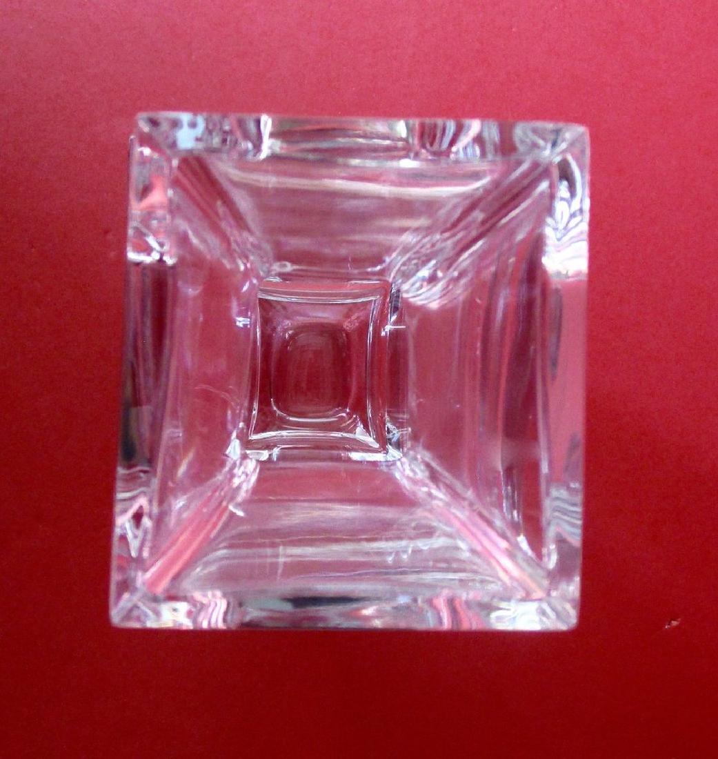 Baccarat 10 1/4 - Inch Lead Crystal Vase in Pristine - 7