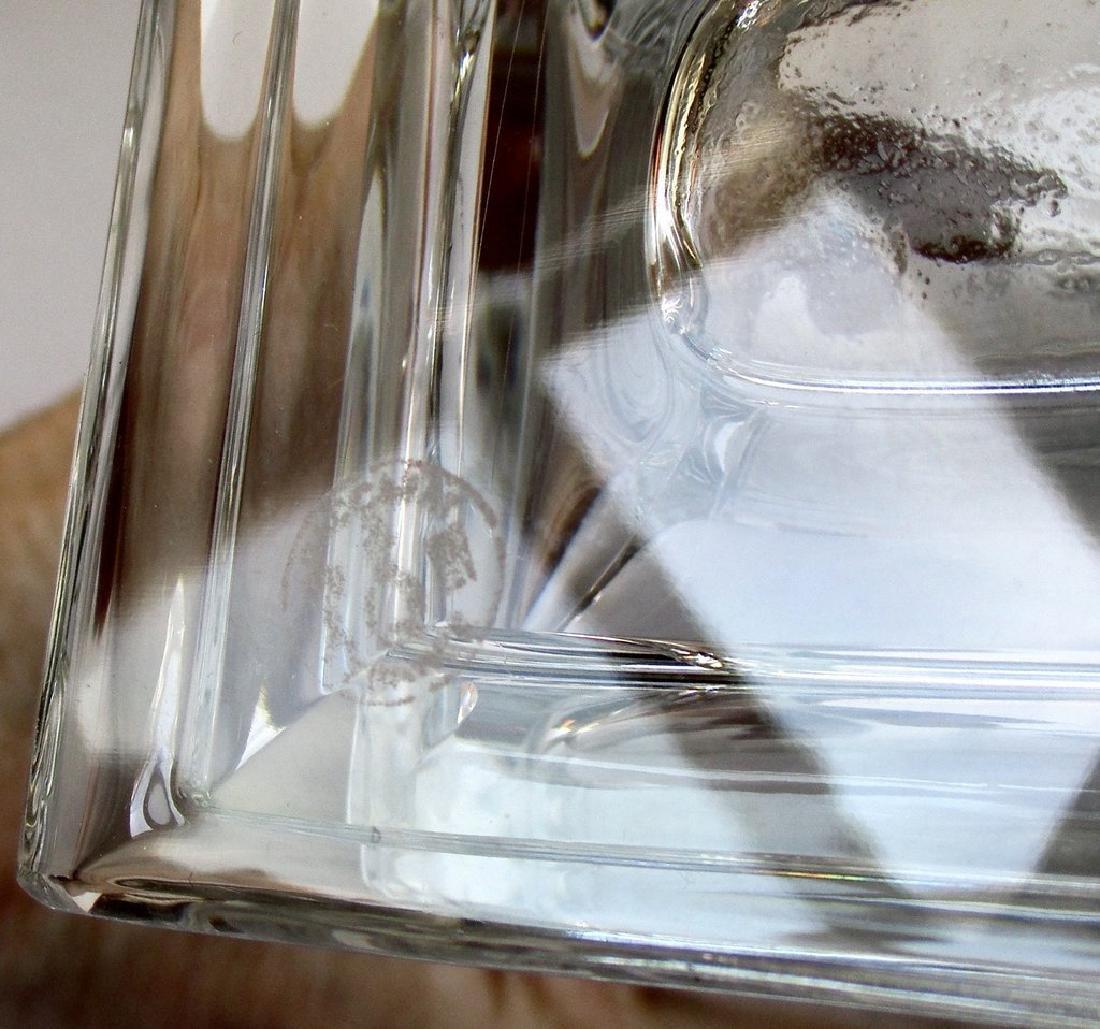 Baccarat 10 1/4 - Inch Lead Crystal Vase in Pristine - 8