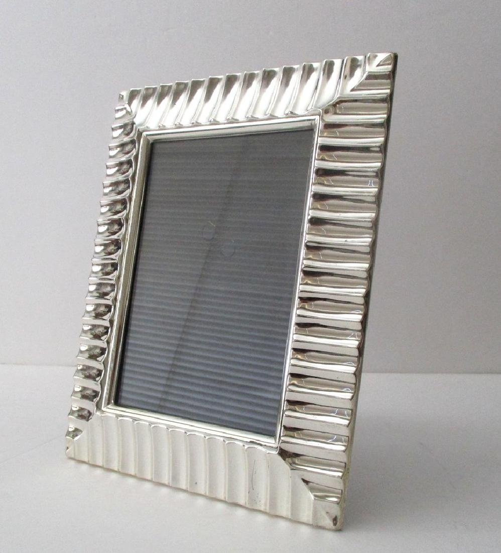 Vintage Silver-plated Picture Frame - 2