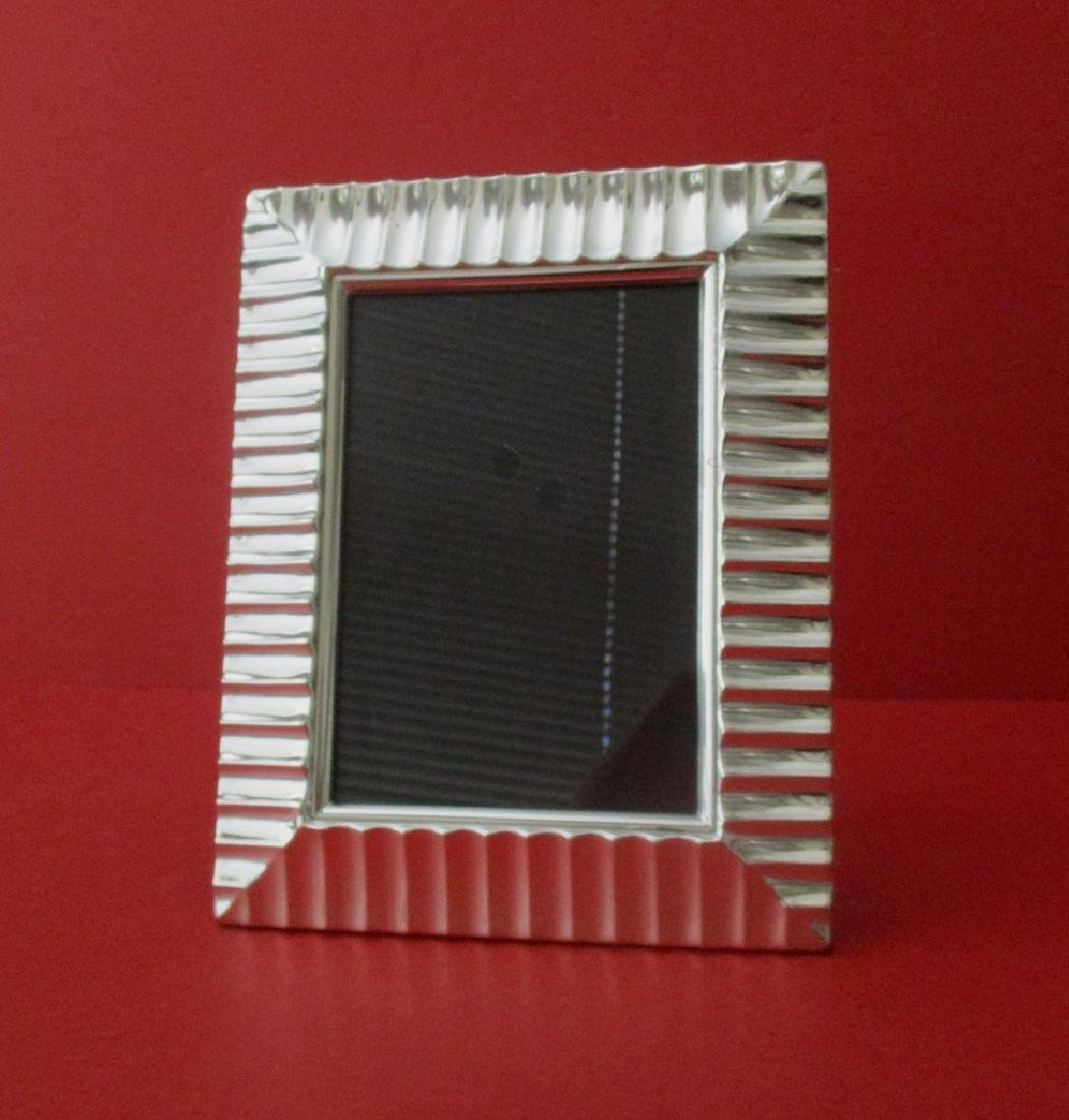 Vintage Silver-plated Picture Frame - 3