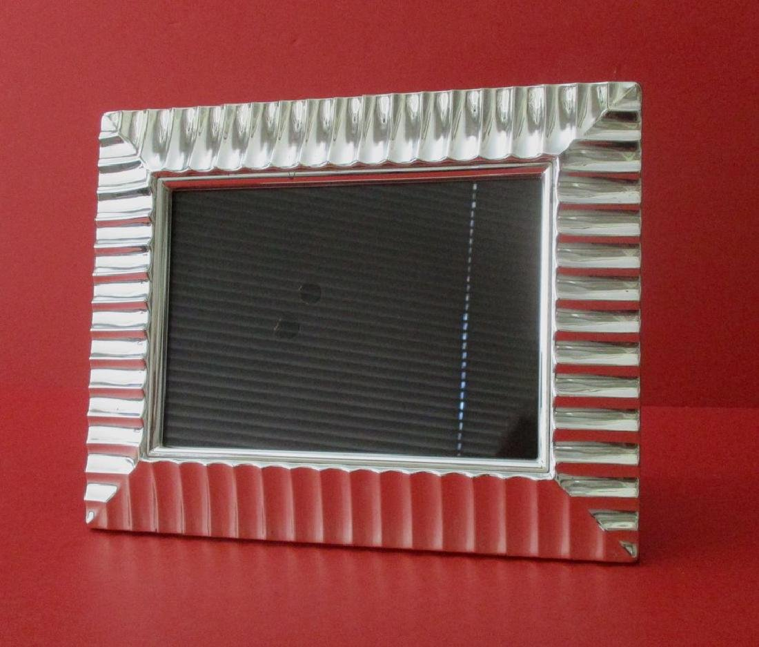 Vintage Silver-plated Picture Frame - 4