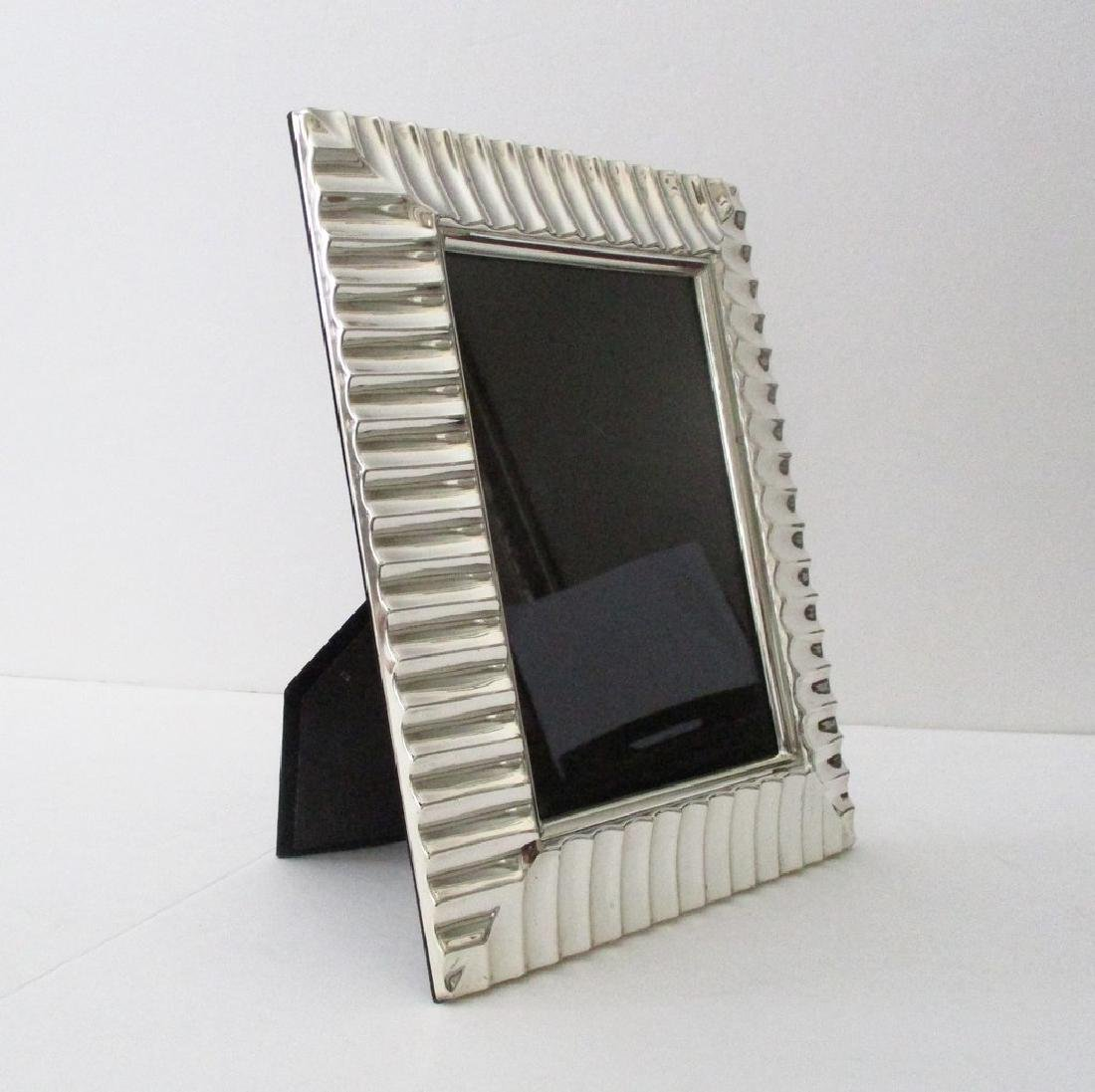 Vintage Silver-plated Picture Frame - 5