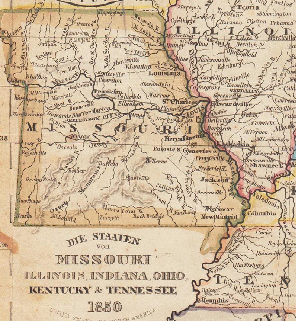 1850 Meyer Mid-continent states - 3