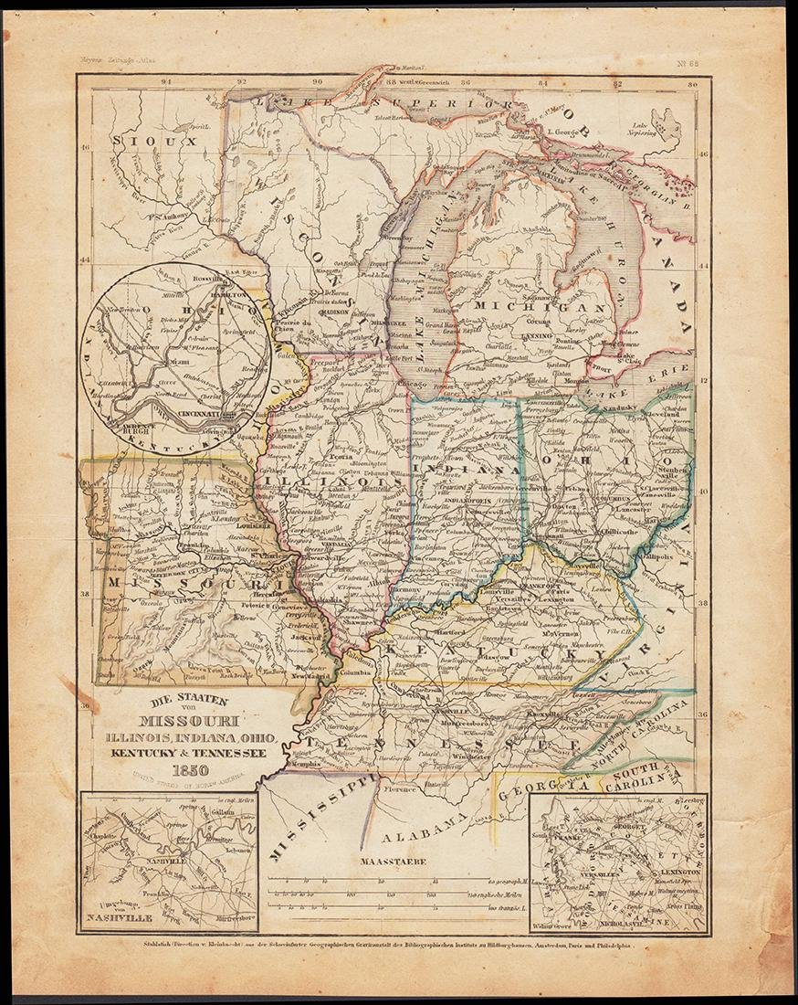 1850 Meyer Mid-continent states - 4
