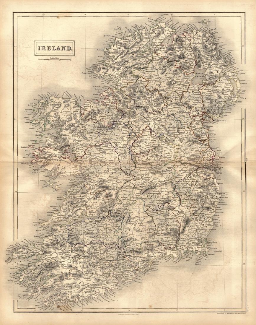 Ireland. [in Counties]