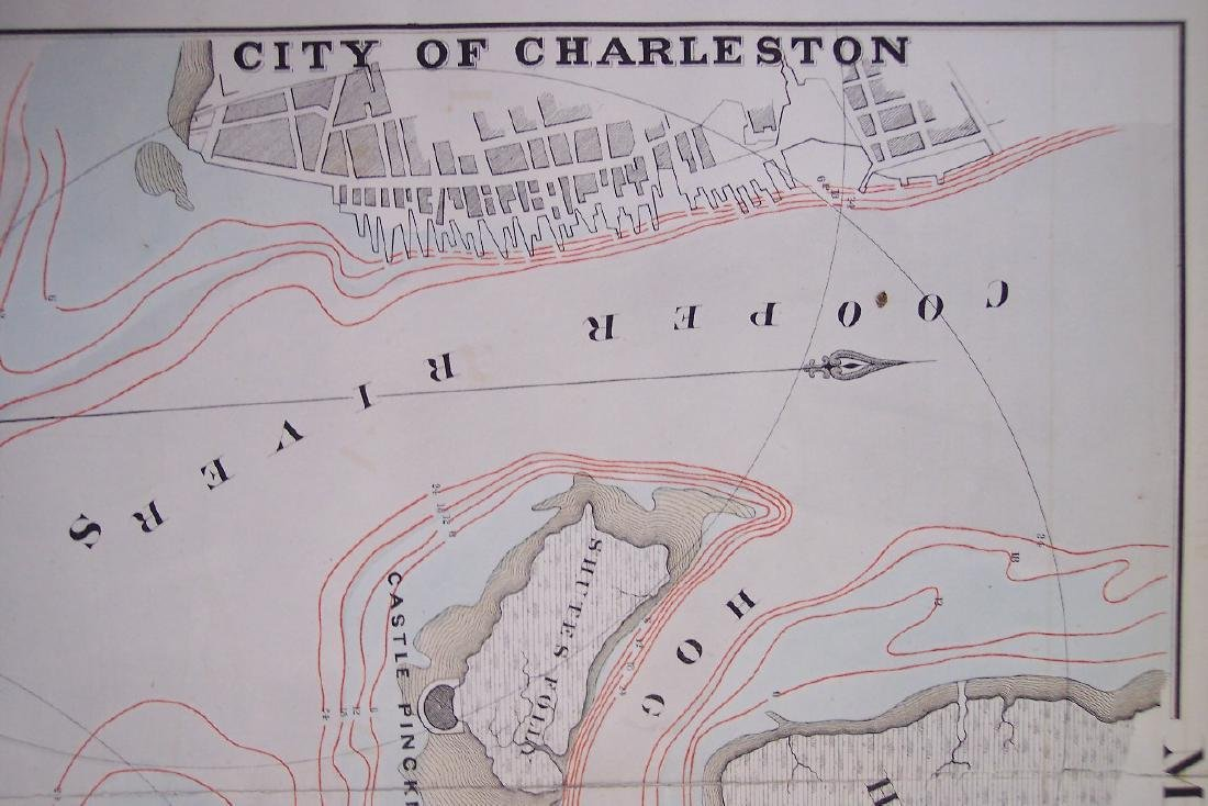 Map of Charleston Harbor S. C. - 6