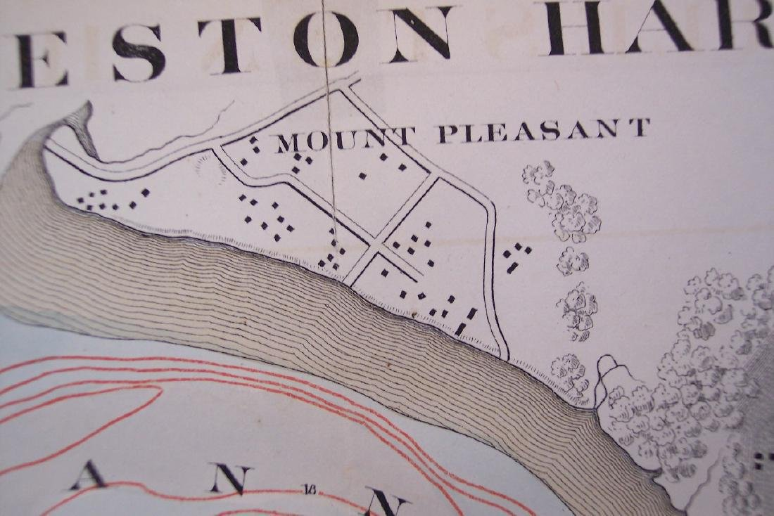 Map of Charleston Harbor S. C. - 7