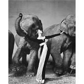 RICHARD AVEDON - Dovima wearing Dior