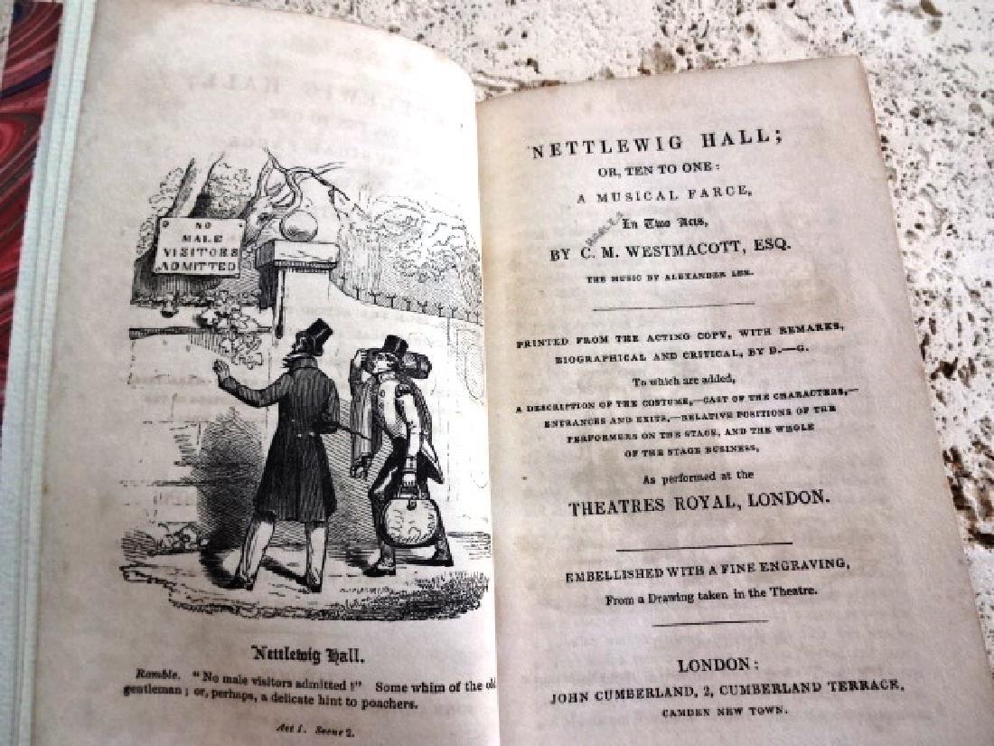 1830 English Play Nettlewig Hall