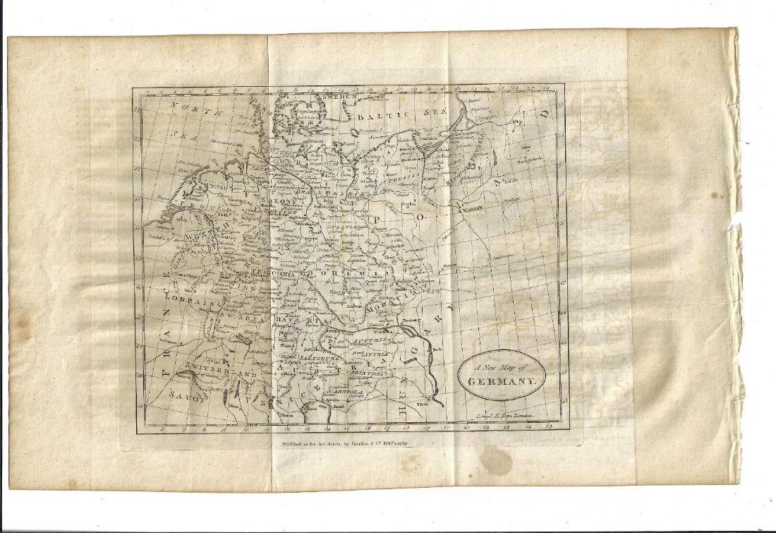 1785 Folding Map of Germany