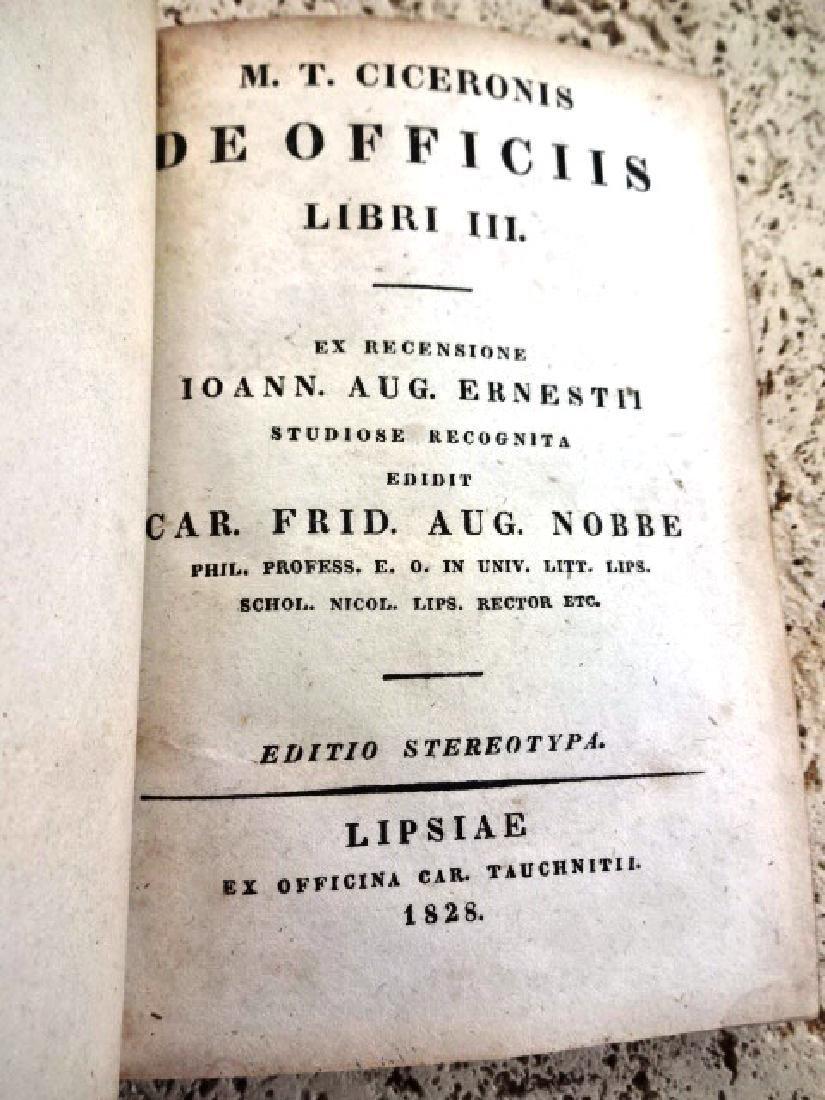 1828 Ciceronis De Officiis Libri III
