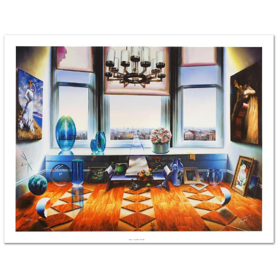 """""""City View"""" Limited Edition Giclee on Canvas (40"""" x"""