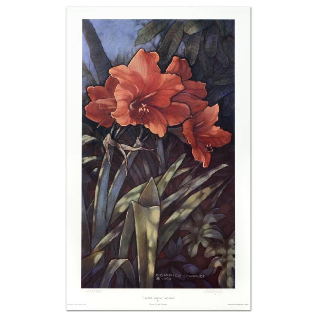"Diane Garrick Scholze, ""Paradise Garden-Amaryllis"""
