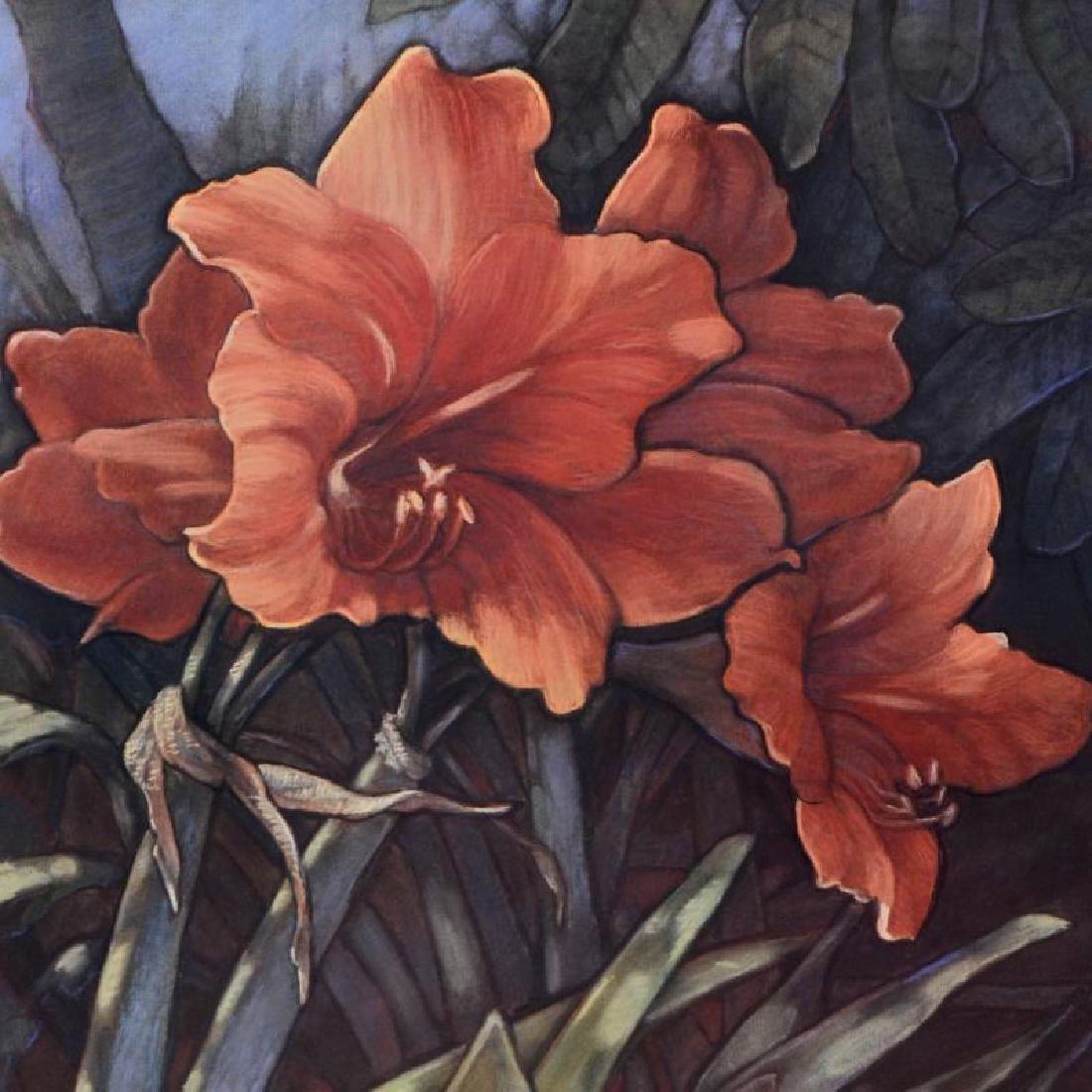 "Diane Garrick Scholze, ""Paradise Garden-Amaryllis"" - 2"