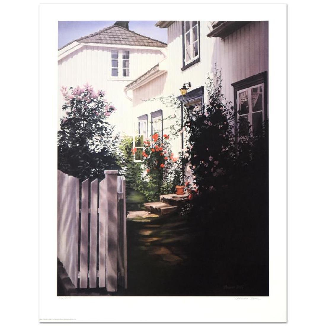 "Barbara Buer, ""Garden Gate"" Limited Edition Lithograph,"