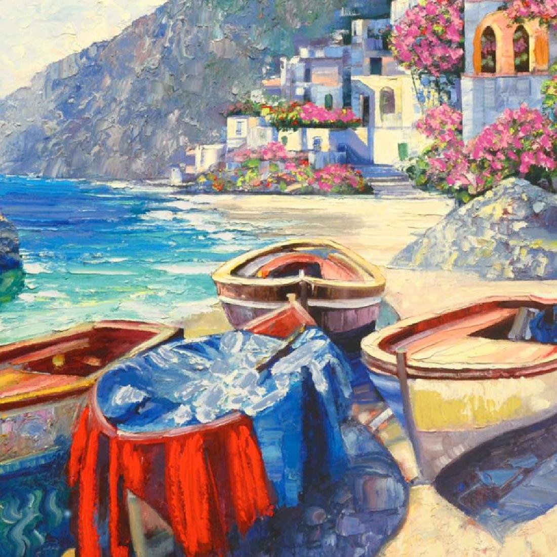 """""""Memories of Capri"""" Limited Edition Hand Embellished - 2"""