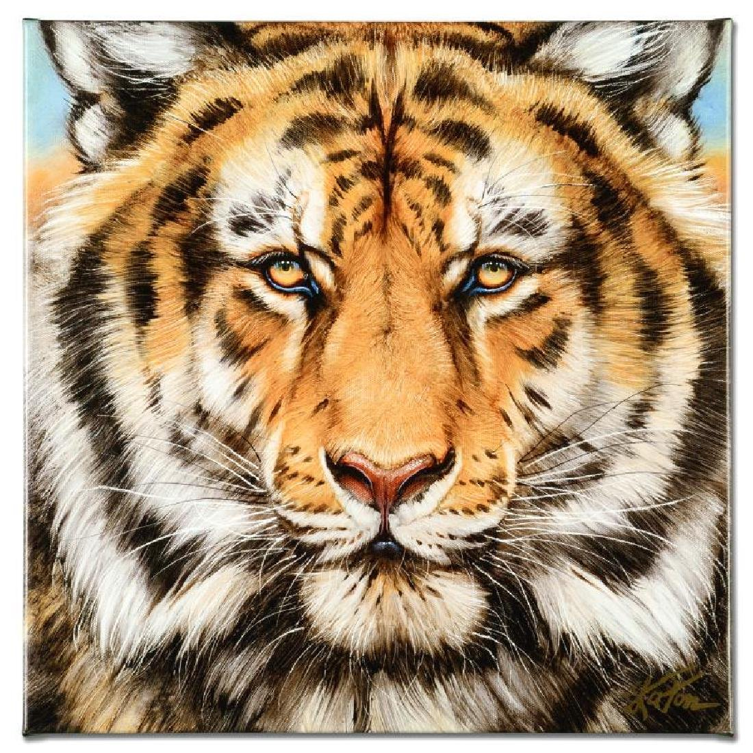 """Terrific Tiger"" Limited Edition Giclee on Canvas by"
