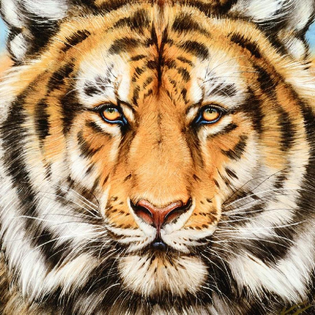 """Terrific Tiger"" Limited Edition Giclee on Canvas by - 2"