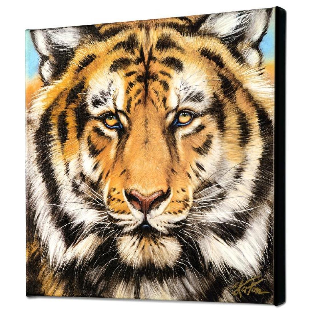 """Terrific Tiger"" Limited Edition Giclee on Canvas by - 3"