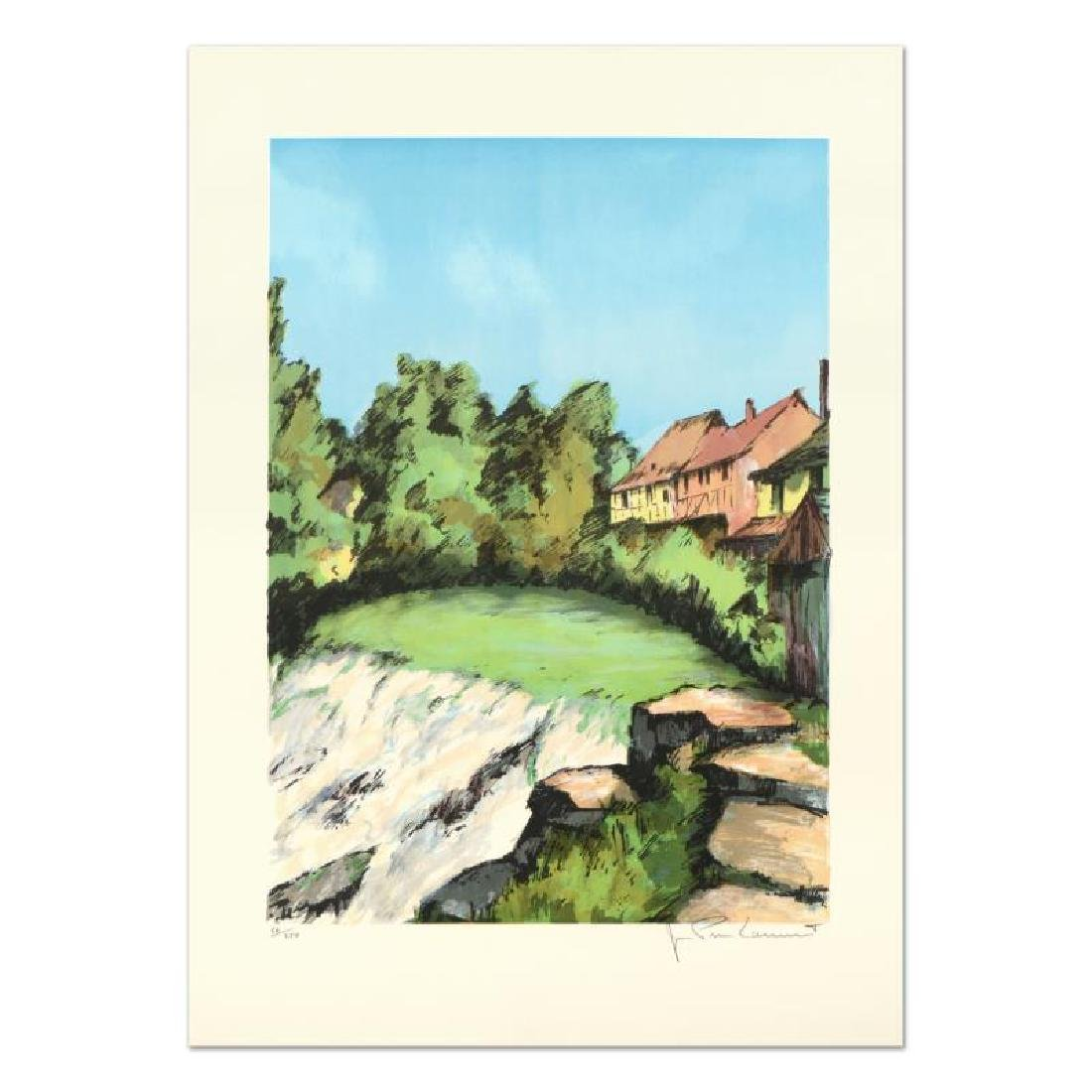 """Laurant - """"St. Tropez"""" Limited Edition Lithograph,"""