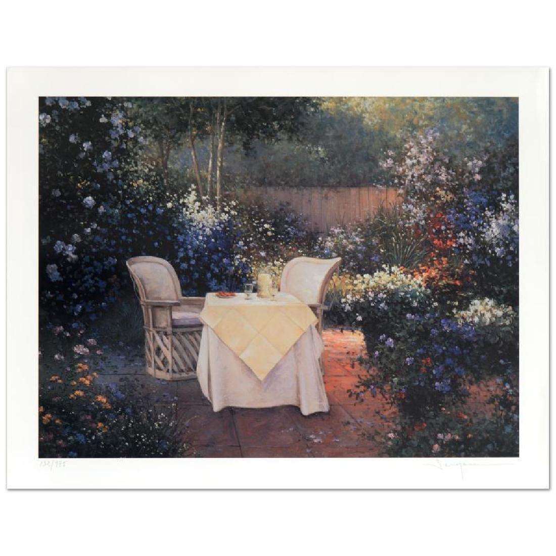 "Sergon, ""Garden Pleasures"" Limited Edition Giclee,"