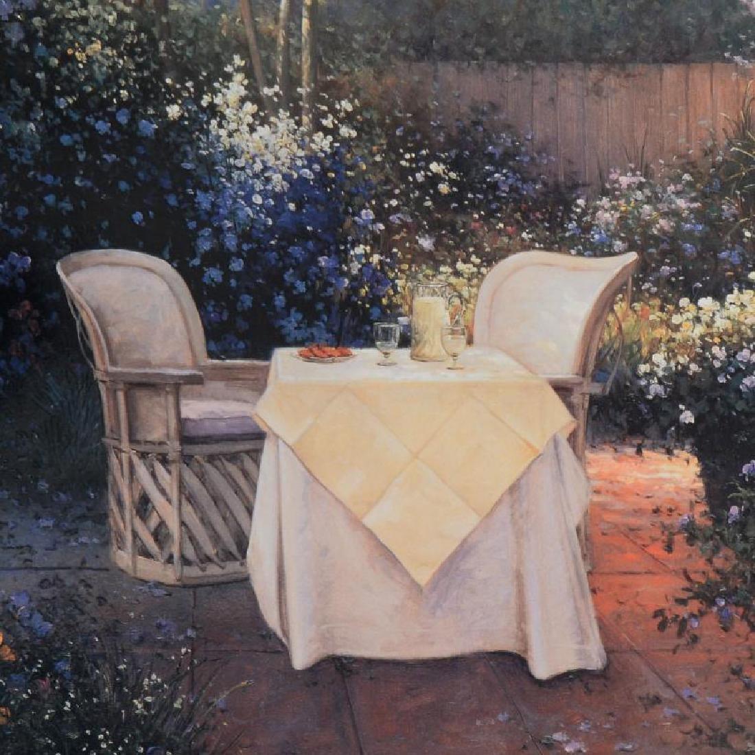 "Sergon, ""Garden Pleasures"" Limited Edition Giclee, - 2"