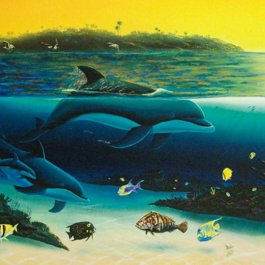 """""""Warm Tropical Waters"""" Limited Edition Giclee on Canvas - 2"""