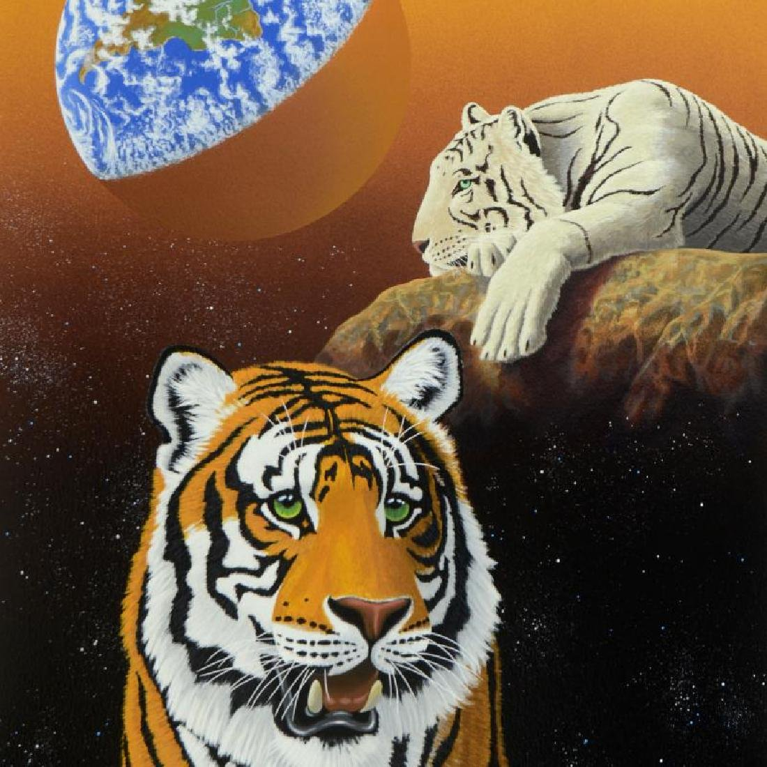 """""""Our Home Too III (Tigers)"""" Limited Edition Serigraph - 2"""