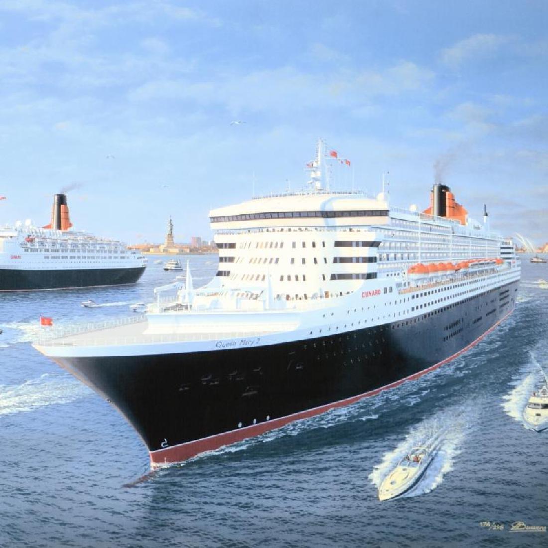 "Gordon Bauwens - ""Cunard Queens"" Limited Edition, - 2"