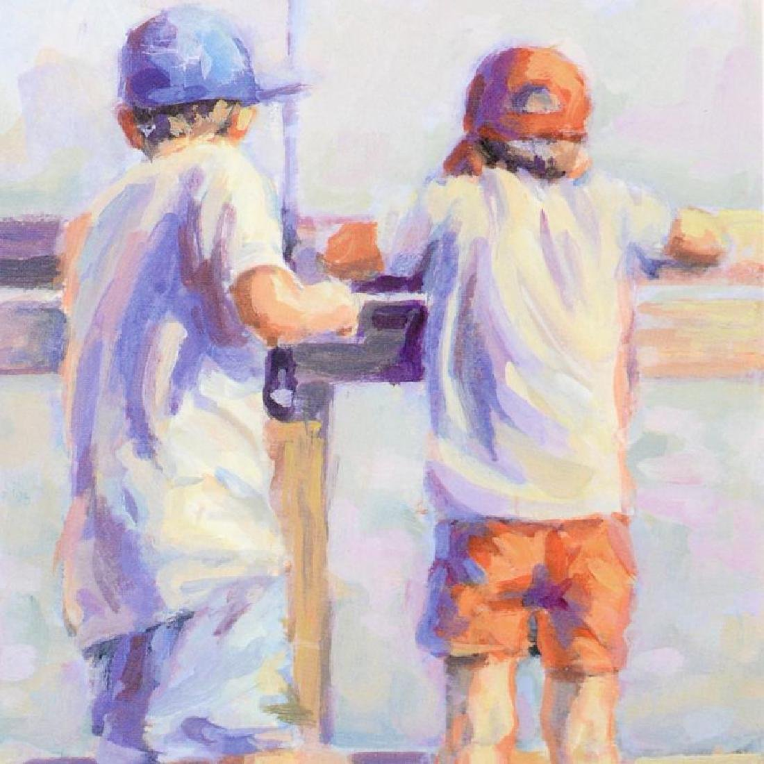 """""""Little Fishermen"""" Limited Edition Lithograph by - 2"""