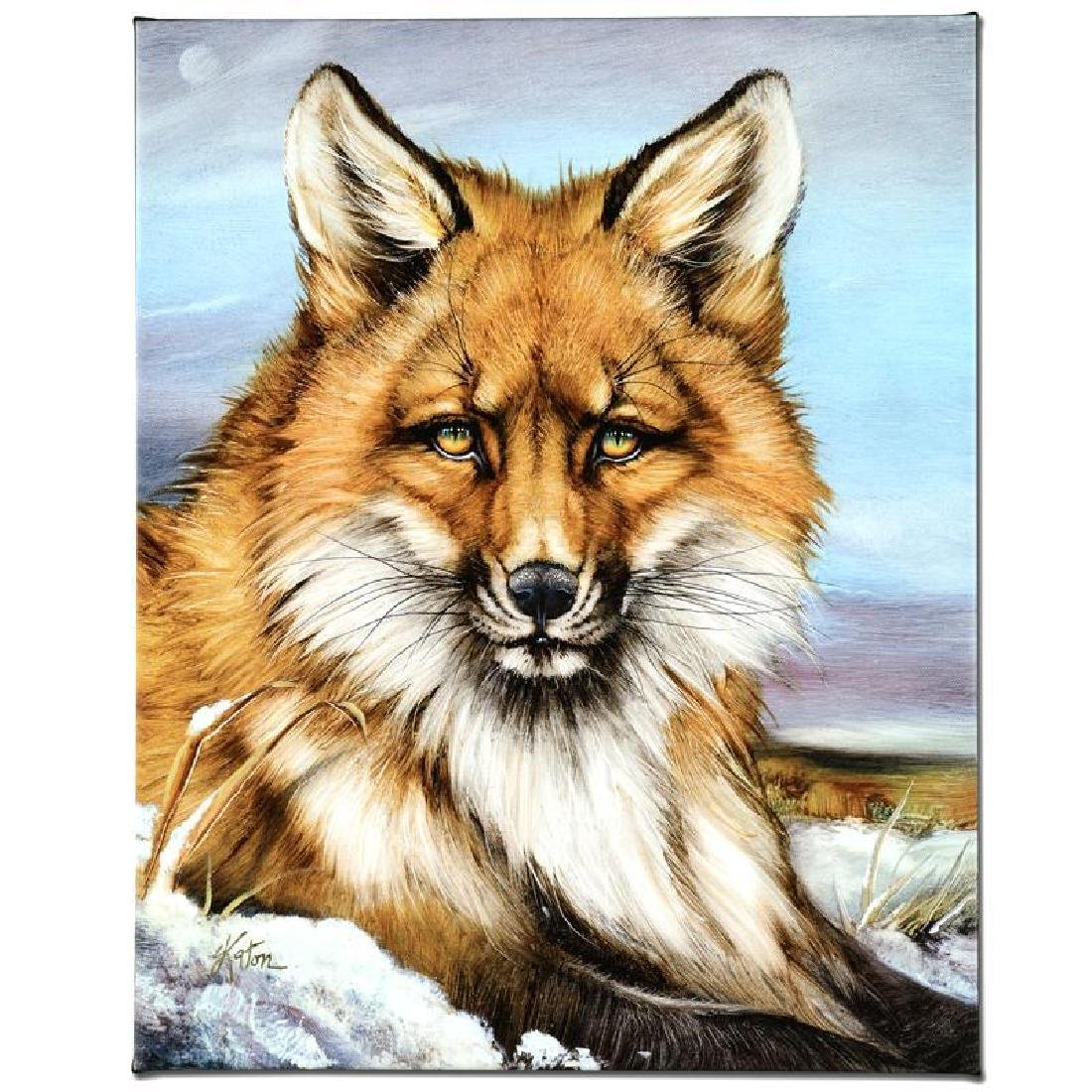 """""""Fantastic Fox"""" Limited Edition Giclee on Canvas by"""