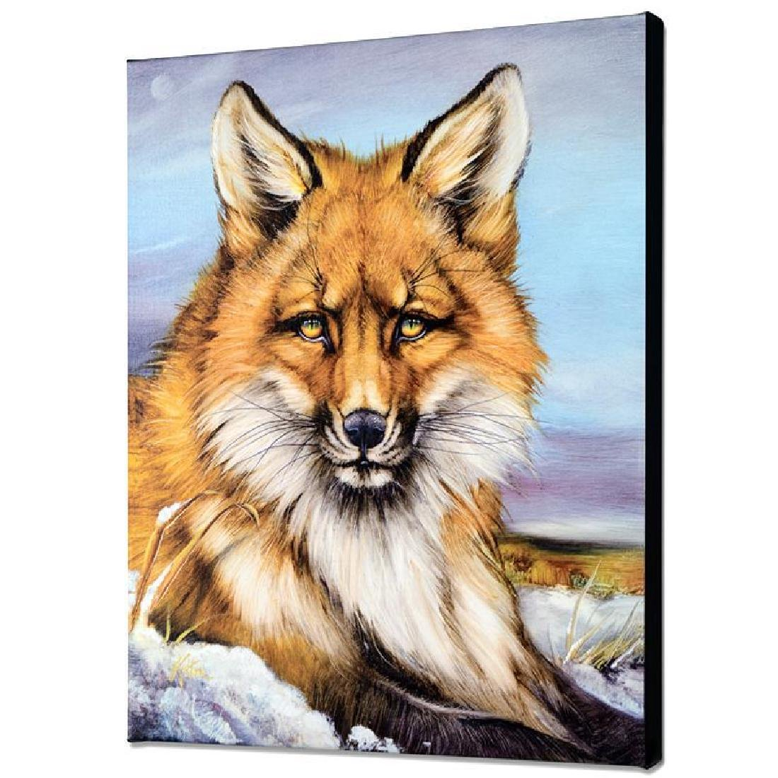 """""""Fantastic Fox"""" Limited Edition Giclee on Canvas by - 3"""