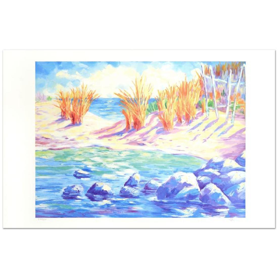 "Adam -""La Playa Arenosa"" Limited Edition Lithograph,"