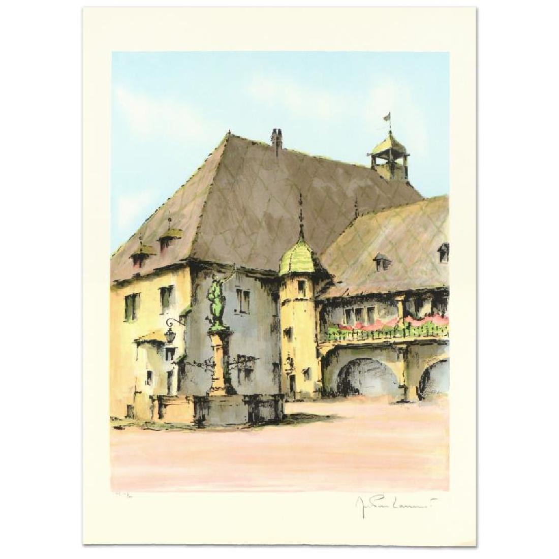 "Laurant - ""Colinar"" Limited Edition Lithograph,"