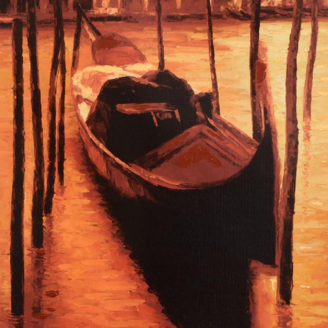 "Howard Behrens (1933-2014), ""Sunset Gondola"" Limited - 2"