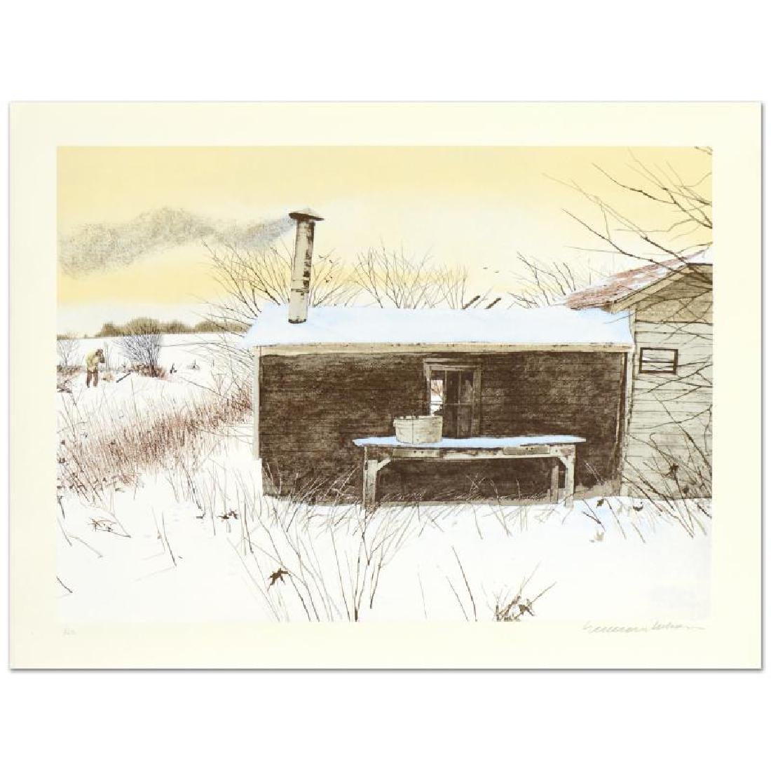 """William Nelson, """"Hunter's Shack"""" Limited Edition"""