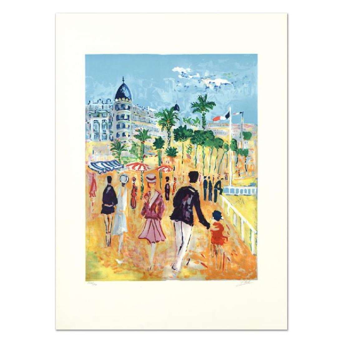 "Jean Claude Picot, ""Nice "" Limited Edition Lithograph,"