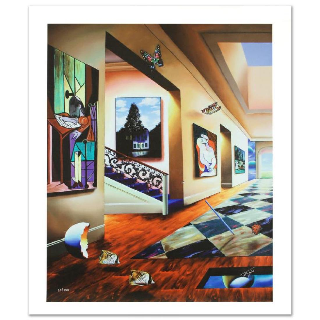 """Perfect Afternoon"" Limited Edition Giclee Diptych on - 2"