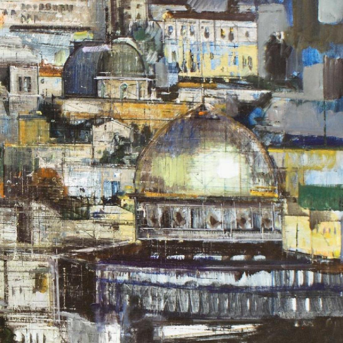 """""""Jerusalem at Dusk"""" Limited Edition Giclee on Canvas by - 2"""