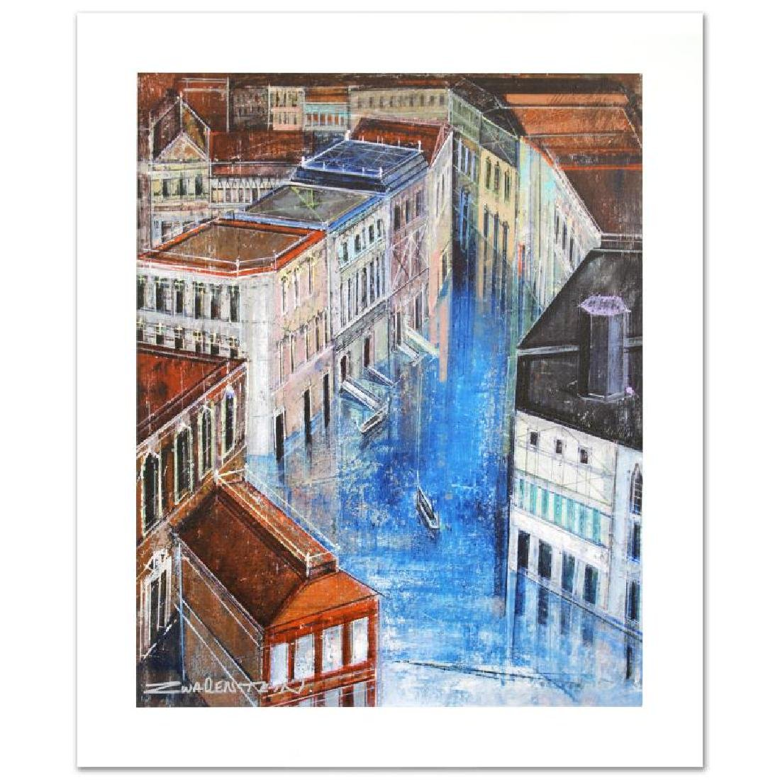 """Jewel Canal"" Limited Edition Giclee on Canvas by Alex"