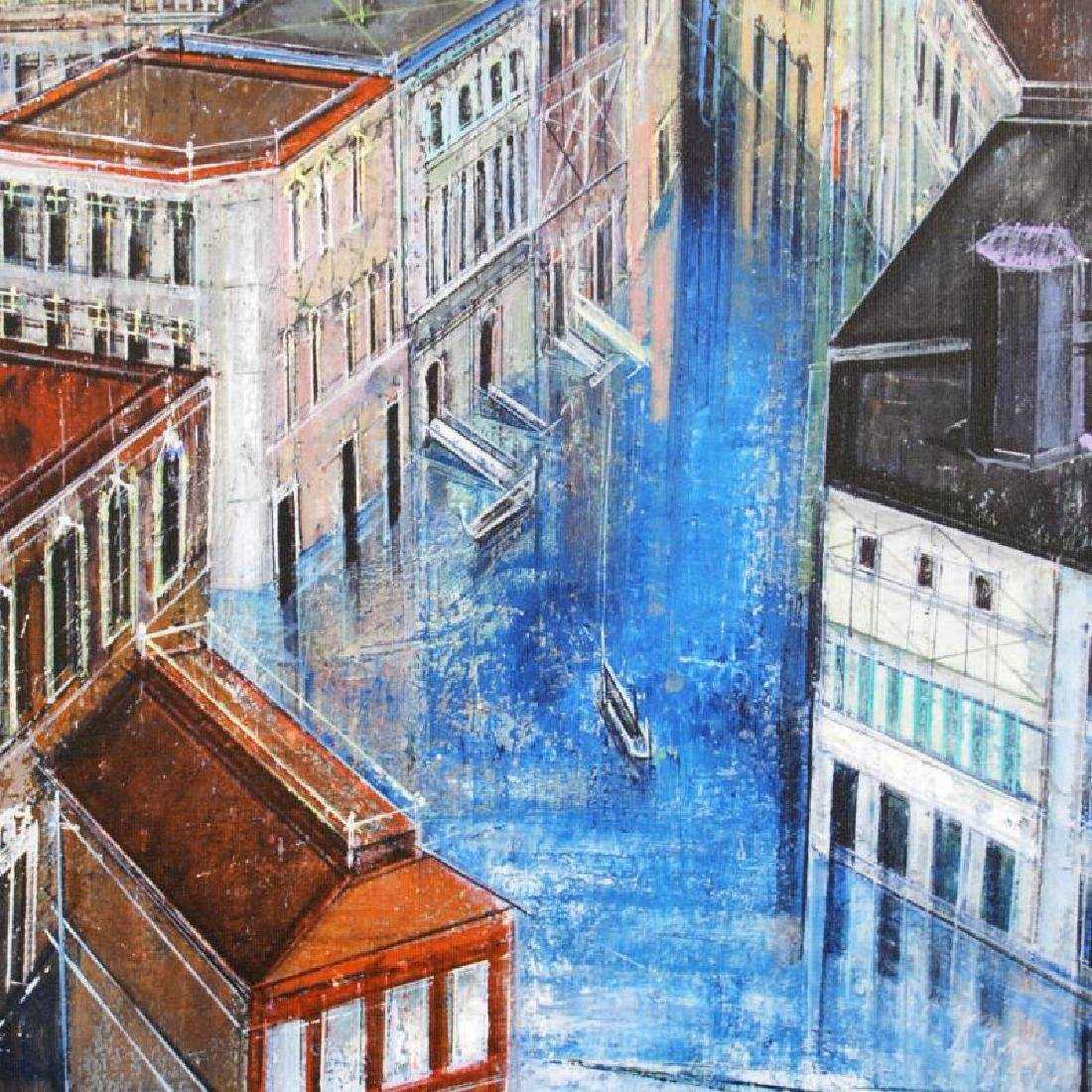 """Jewel Canal"" Limited Edition Giclee on Canvas by Alex - 2"