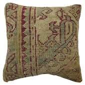 Ghiordes Rug Pillow