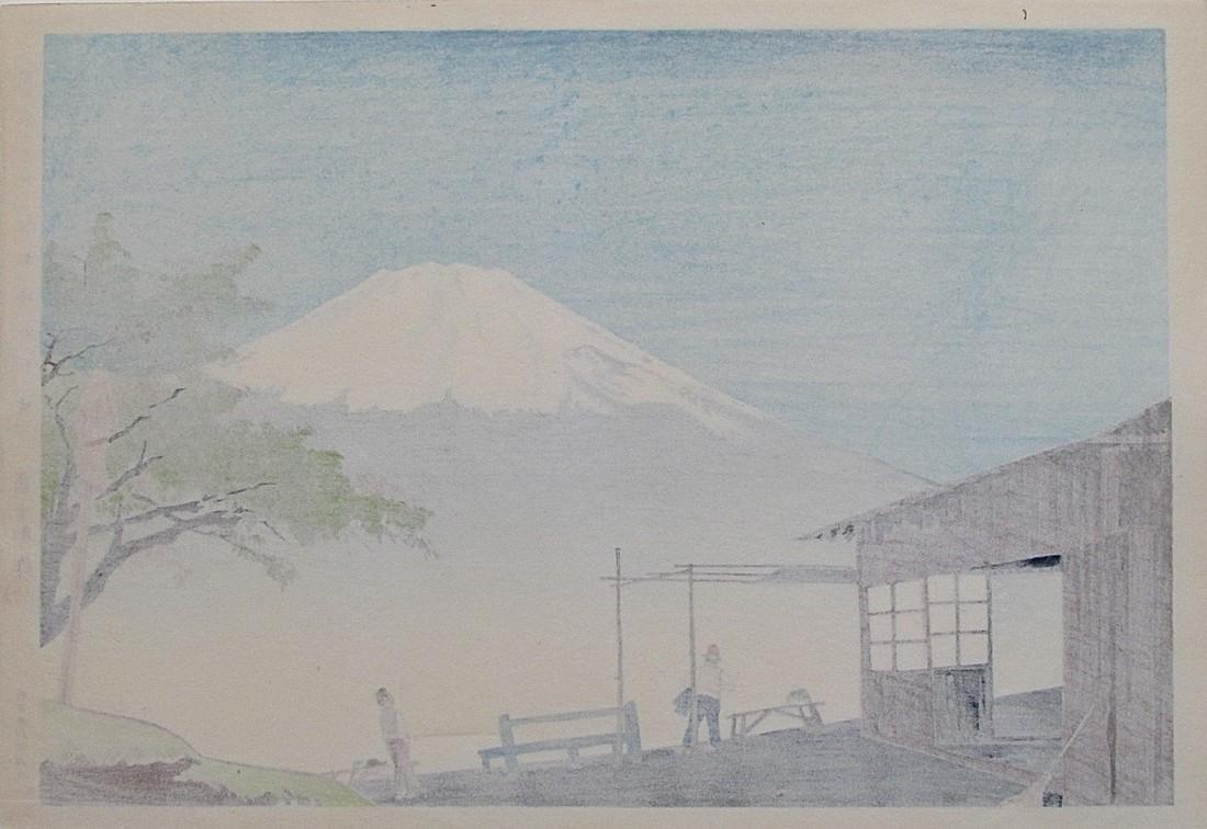 36 Views of Fuji, Otome Pass - 2