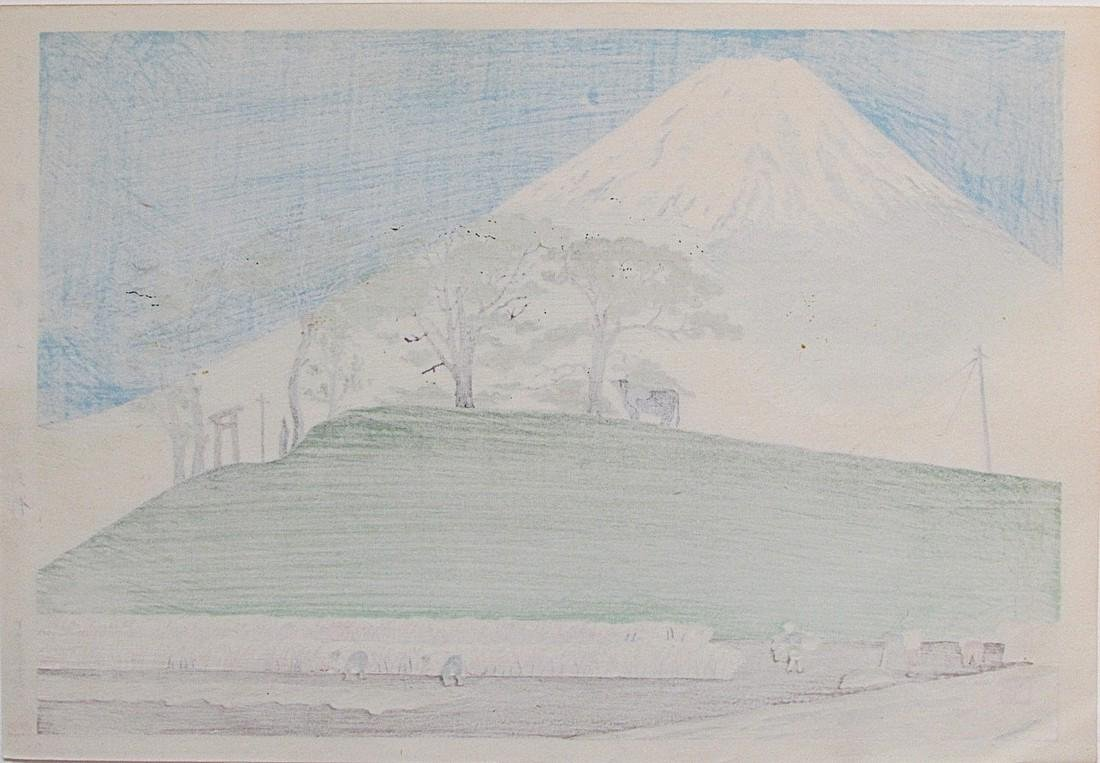 36 Views of Fuji, Honen - 2