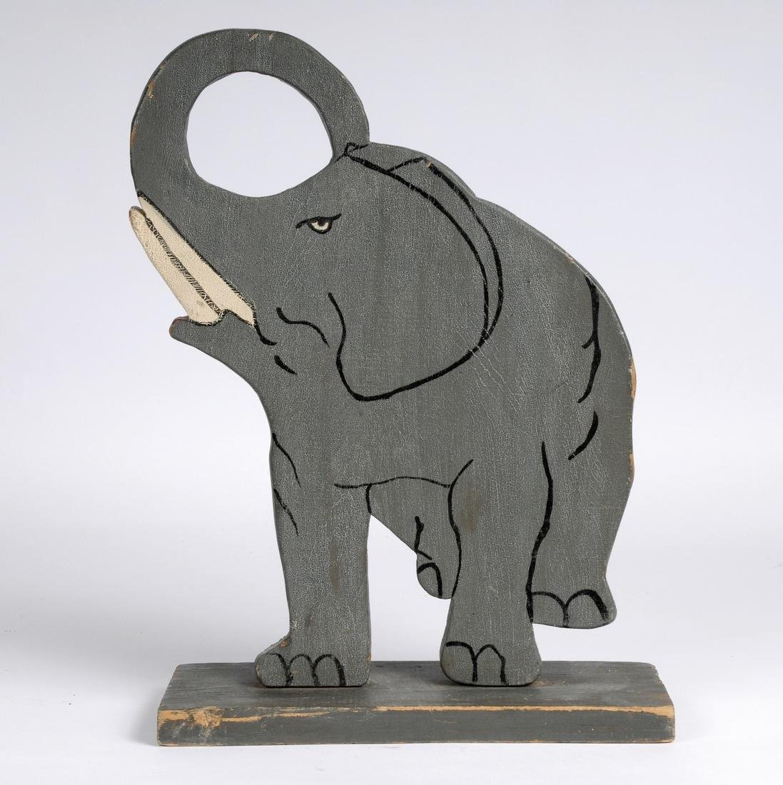 Folk Art Elephant