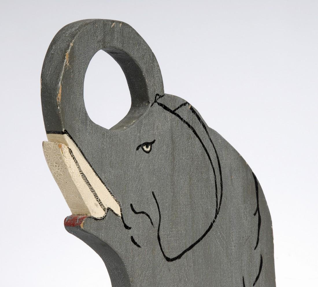Folk Art Elephant - 3