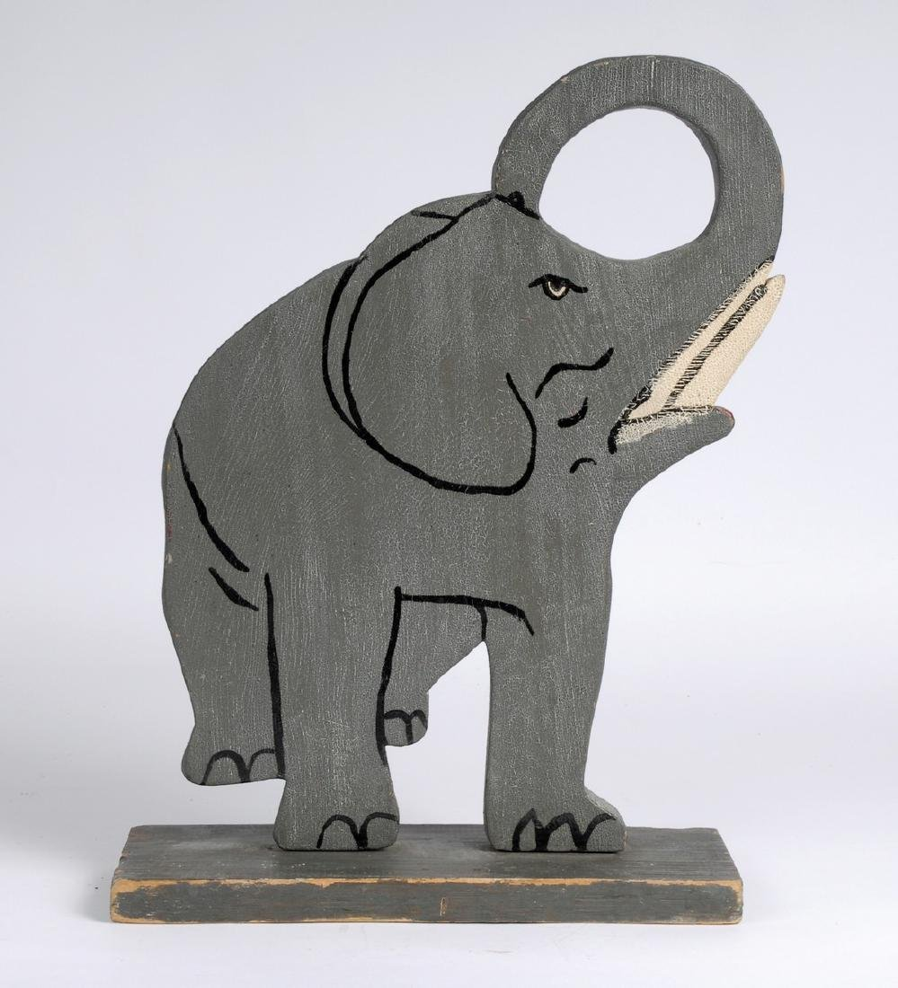 Folk Art Elephant - 4