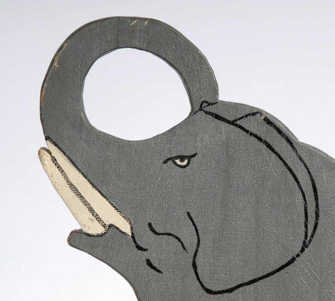 Folk Art Elephant - 5