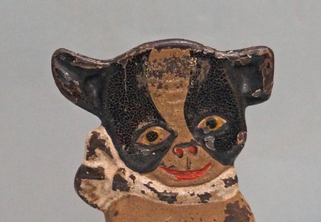 """Boston Terrier """"IMP"""" Hubley Doorstop Dated 1921 - 3"""